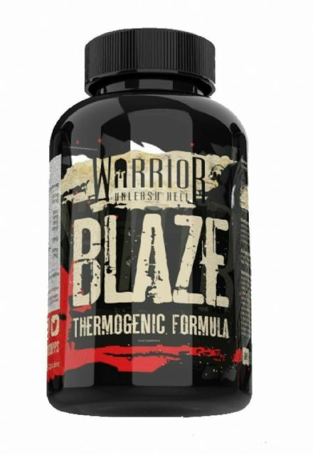 Warrior BLAZE x 90/180 V-Capsules; Strongest Formula; Weight Loss